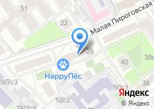 Компания «Зоомагазин на Малой Пироговской» на карте