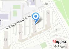 Компания «Бородино» на карте