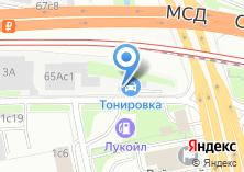 Компания «Автоателье» на карте