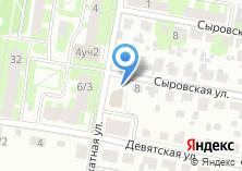 Компания «Строящееся административное здание по ул. Силикатная (г. Подольск)» на карте