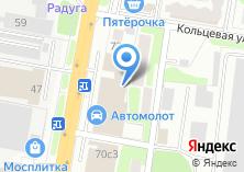 Компания «Моника» на карте