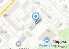 Компания «Спецзагранкомплект» на карте