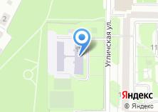 Компания «Средняя общеобразовательная школа №1051» на карте
