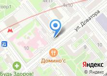 Компания «Блюз Отель» на карте