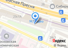 Компания «М.видео» на карте