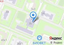 Компания «Средняя общеобразовательная школа №1825» на карте