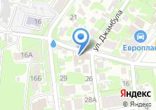 Компания «Магазин продуктов на ул. Джамбула» на карте