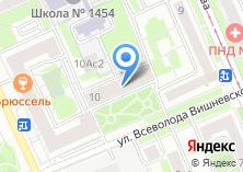 Компания «Московский межрайонный почтамт №3» на карте