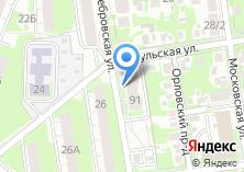 Компания «Строящийся жилой дом по ул. Серебровская» на карте