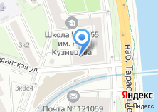 Компания «Интер-Транстур» на карте