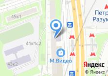 Компания «МосАвтоПро» на карте