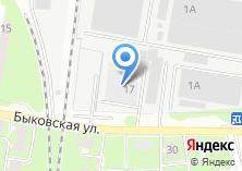 Компания «Лорад» на карте