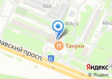 Компания «Тануки» на карте