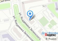 Компания «Территориальная организация работников ЖКХ» на карте