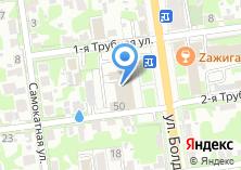 Компания «Территориальное Управление по Привокзальному и Советскому районам» на карте