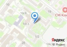 Компания «Беговой» на карте