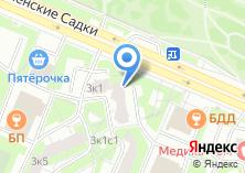 Компания «Аэростат» на карте