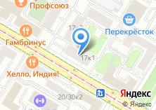 Компания «Почтовое отделение №117218» на карте