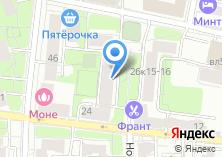 Компания «Стройсевер» на карте