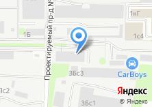 Компания «Эвакуатор 555» на карте