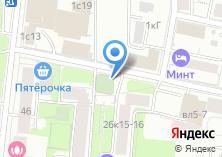 Компания «Автостоянка на Большом Тишинском переулке» на карте