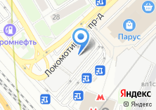 Компания «Цветочный магазин на Локомотивном проезде» на карте