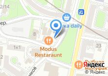 Компания «Modus» на карте