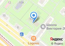Компания «Малая школа» на карте