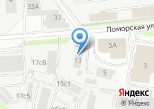 Компания «Автомотомастерская» на карте