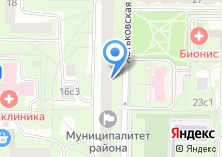 Компания «ОДС Инженерная служба района Лианозово» на карте