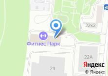 Компания «Фитнес-парк» на карте