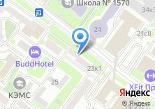 Компания «Четвертая прокуратура по надзору за исполнением законов на особо режимных объектах Московской области» на карте