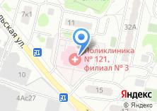 Компания «Женская консультация Городская поликлиника №141» на карте