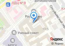 Компания «Технопарк Россолимо» на карте