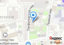 Компания «Юрис» на карте