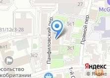 Компания «АКБ ТрансСтройБанк» на карте