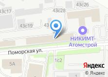 Компания «Надежность» на карте