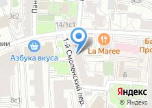 Компания «Тильда-Аудит» на карте