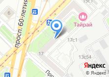 Компания «Ван-Стоун» на карте