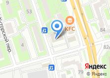 Компания «Строящееся административное здание по ул. Бутырская» на карте