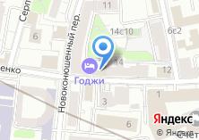 Компания «Консалтингово-визовая служба» на карте