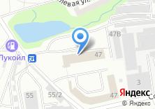 Компания «Техцентр» на карте