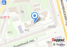 Компания «Центр Танца Тимофеевой» на карте