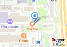 Компания «СВПаркет» на карте