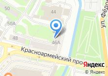 Компания «Воронка» на карте