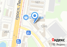 Компания «Шины» на карте