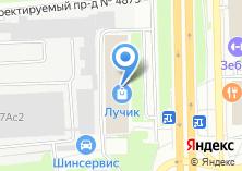 Компания «БизнесТрансСтрой» на карте