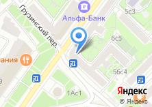 Компания «НАВА» на карте