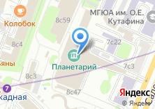 Компания «Большой Планетарий Москвы» на карте