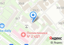 Компания «Правовое сопровождение бизнеса» на карте